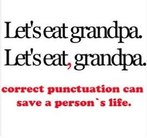 Funny - Punctuation